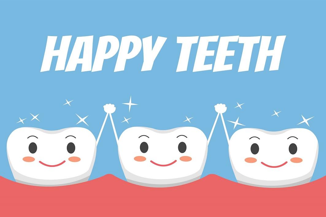دندان خوشحال کودکان