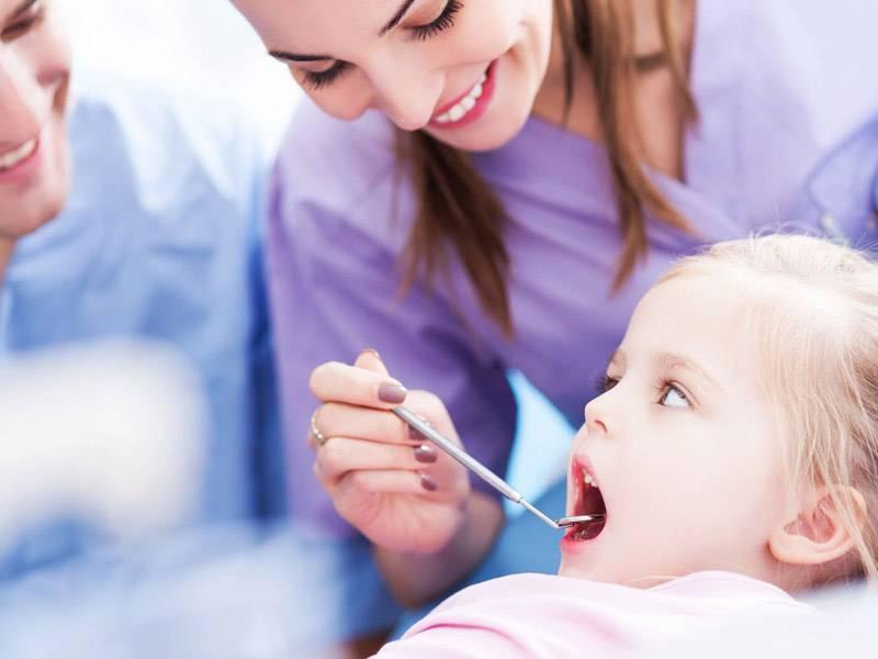 مراحل روکش دندان شیری