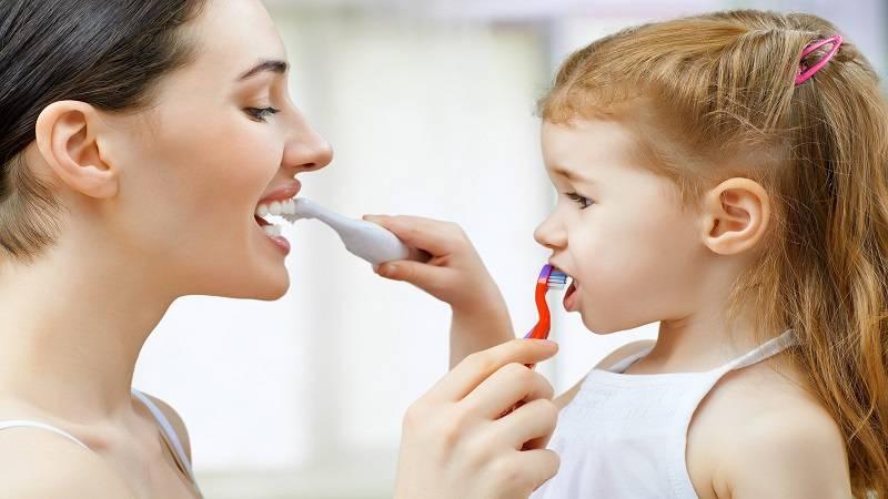 آموزش مسواک زدن کودکان