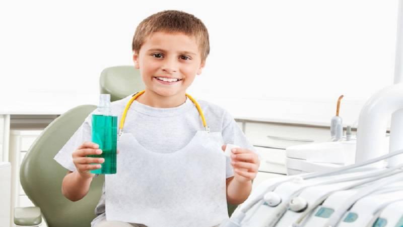 دندانپزشک کودکان اصفهان   دهان شویه کودکان